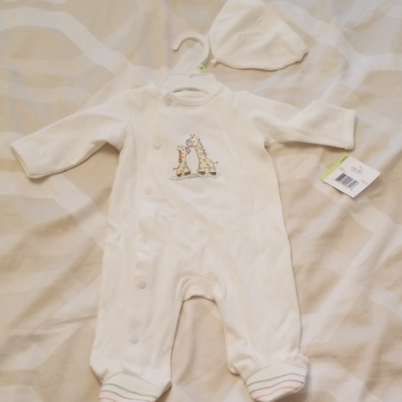 Little Me Other - 3M Little me footie baby outfit